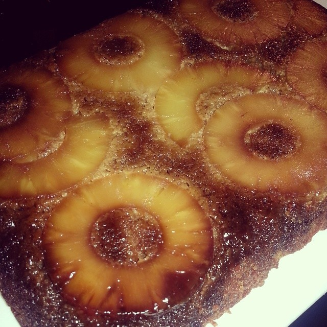 Grain-free Pineapple Upside-Down Cake