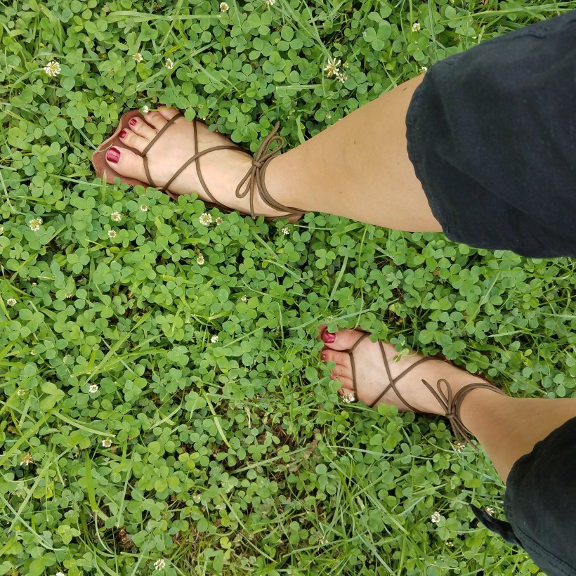 My New Earthing Shoes