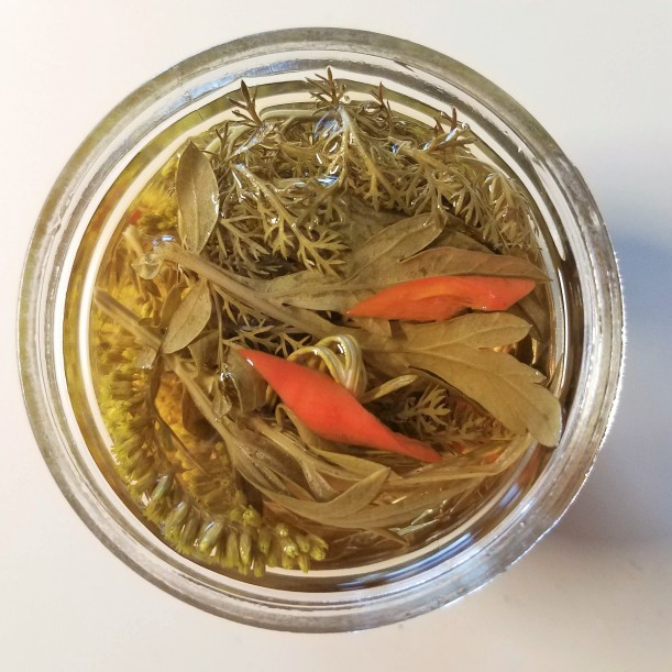 Herbal Infused Vinegar