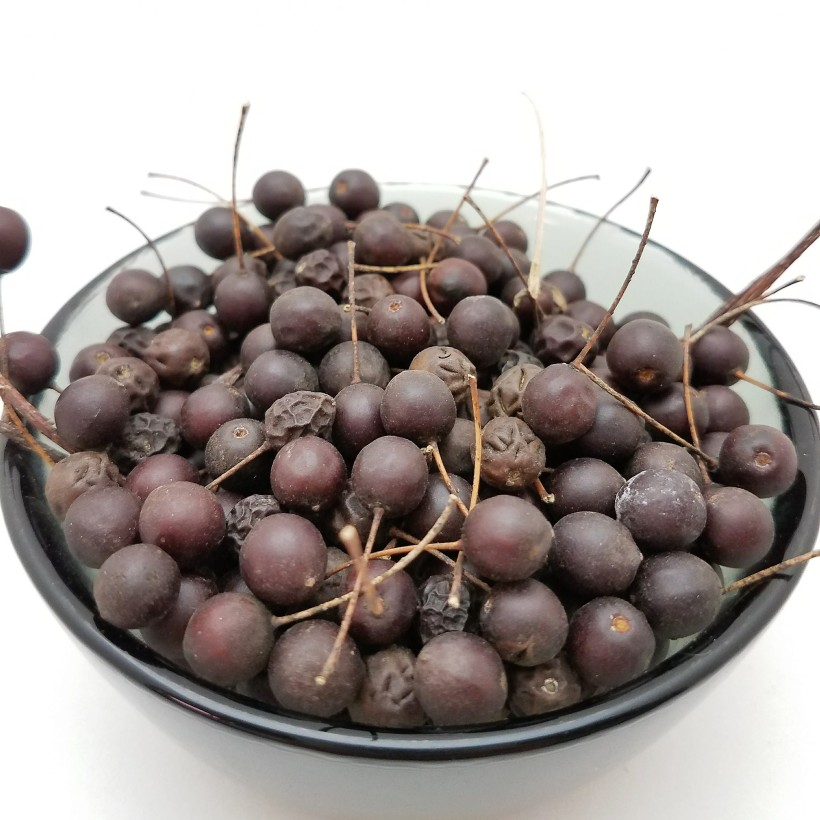 A Bowl of Hackberries