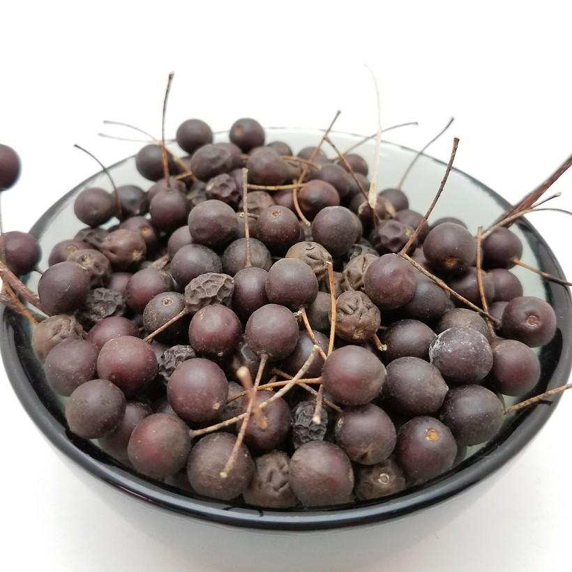 A Bowl of Hackberries