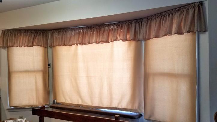 Polar fleece window insulation