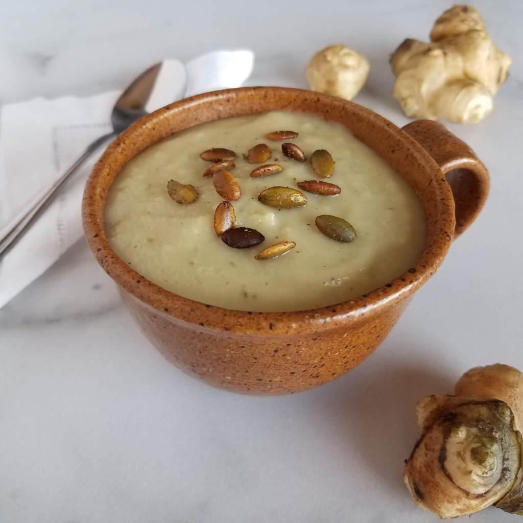 ...make sunchoke soup!