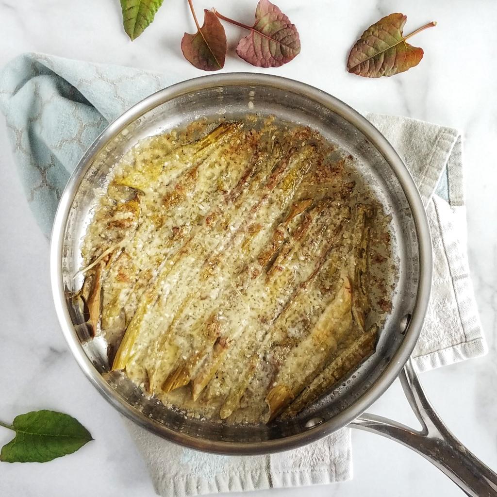 Parmesan Roasted Knotweed