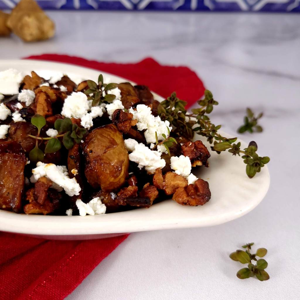 Sweet and Spicy Roasted Sunchokes