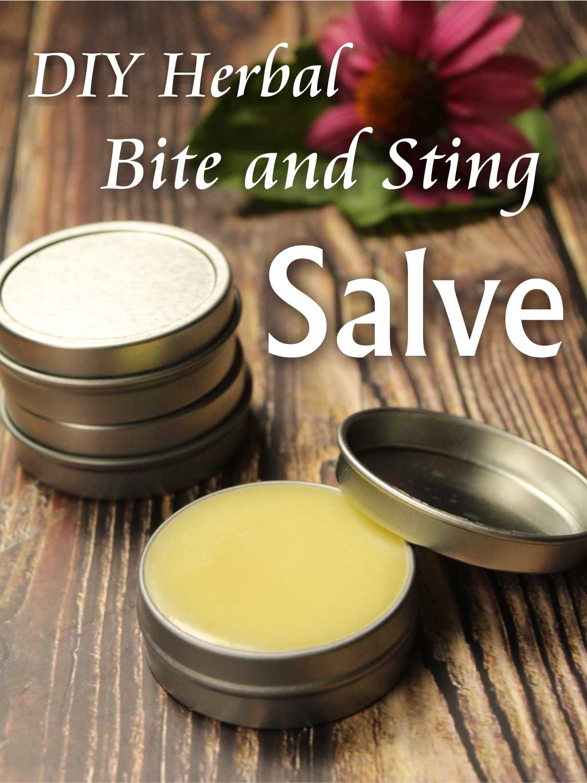 DIY herbal bite and sting salve is the perfect antidote to the inevitable summertime assaults on delicate skin!